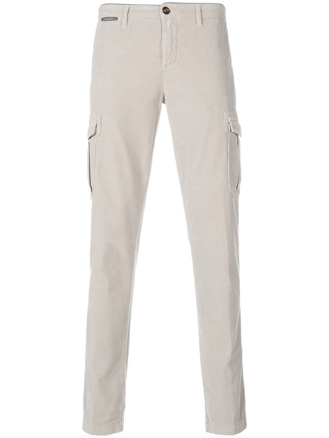 Eleventy Plain Chinos - White