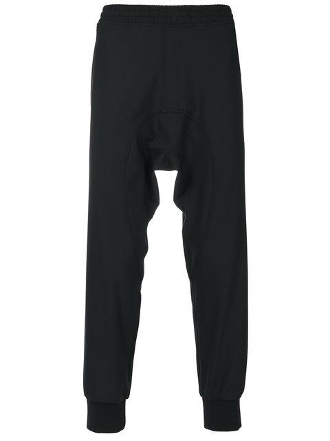 Neil Barrett Elasticated Waistband Black Wool Pants
