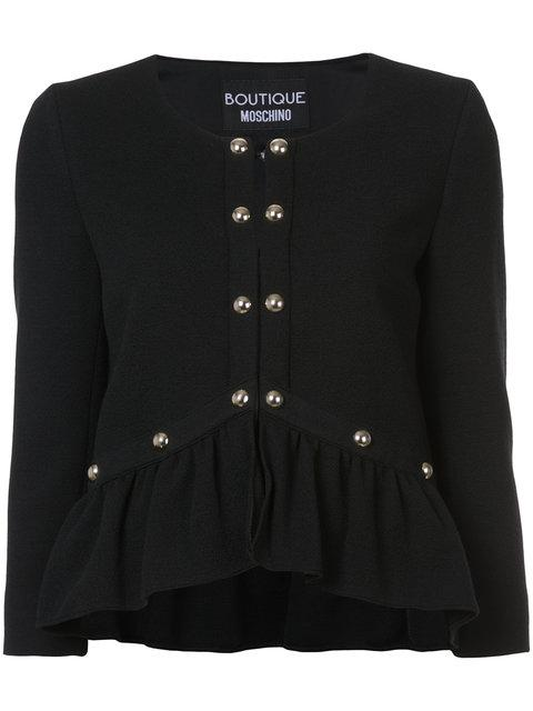 Boutique Moschino Embroidered Jacket