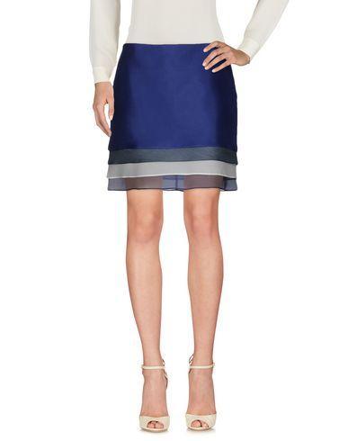Jil Sander Knee Length Skirt In Dark Blue