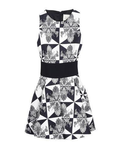 Fausto Puglisi Short Dresses In Black
