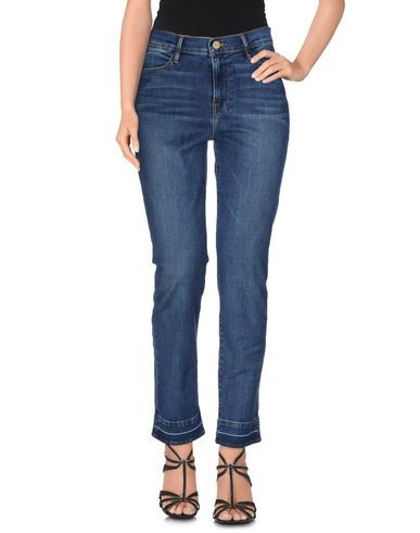Frame Denim Pants In Blue