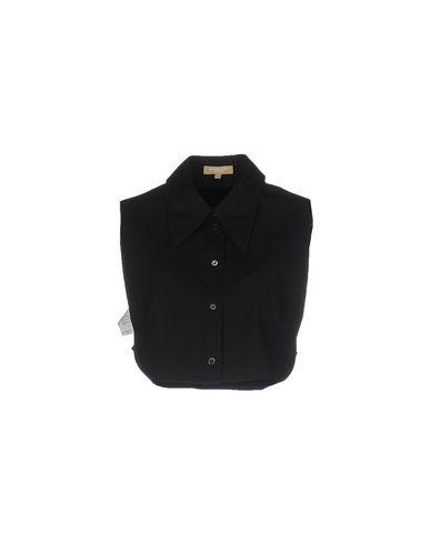 Michael Kors Solid Color Shirts & Blouses In Black