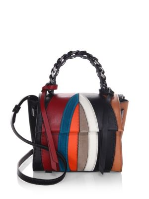 Elena Ghisellini Small Angel Multicolored Crossbody Bag