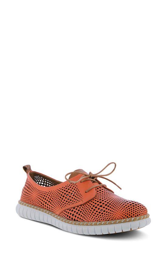Spring Step Kalene Loafer In Red Leather