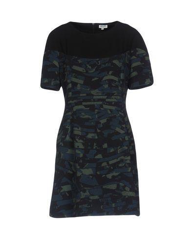 Kenzo Short Dress In Slate Blue