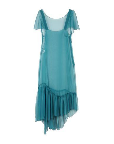 Alberta Ferretti Knee-length Dress In Deep Jade