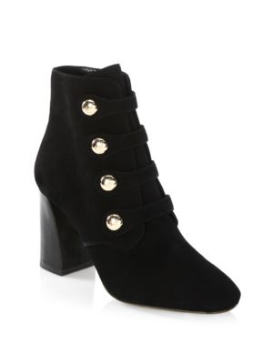 Tory Burch Marisa 85mm Strappy Booties In Black