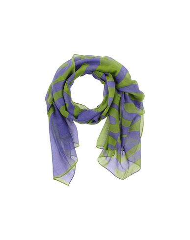 Moschino Oblong Scarves In Purple