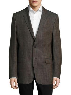 Versace Textured Sportcoat In Silver