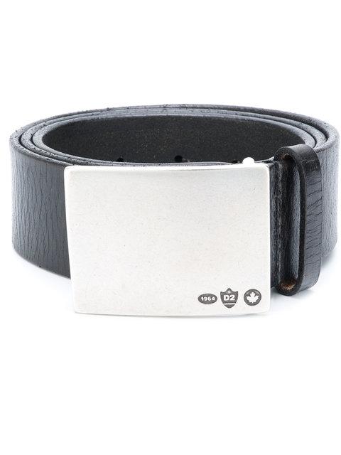 Dsquared2 Logo Engraved Buckle Belt