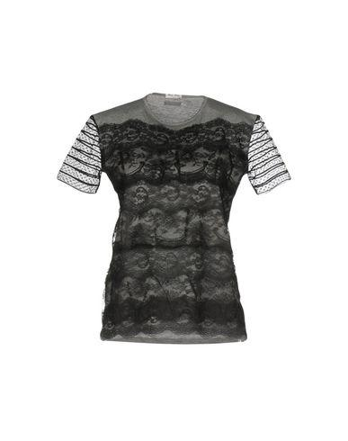 Miu Miu T-shirts In Grey