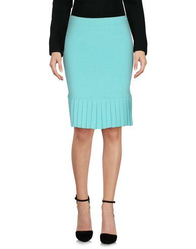 Boutique Moschino Knee Length Skirts In Light Green