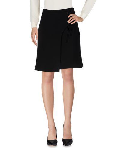 Carven Knee Length Skirt In Black