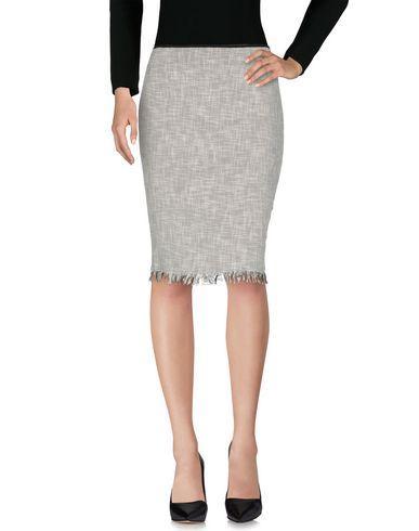 Paul Smith Knee Length Skirt In White