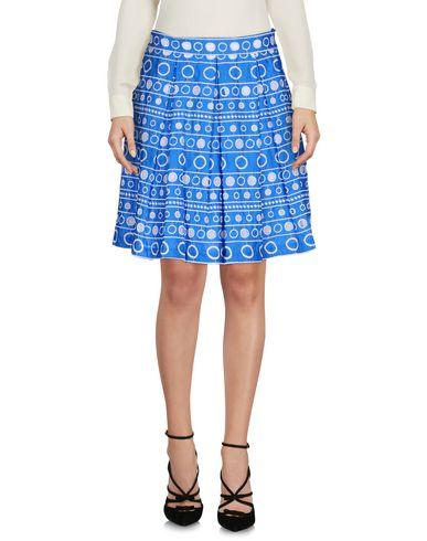 Boutique Moschino Knee Length Skirt In Azure