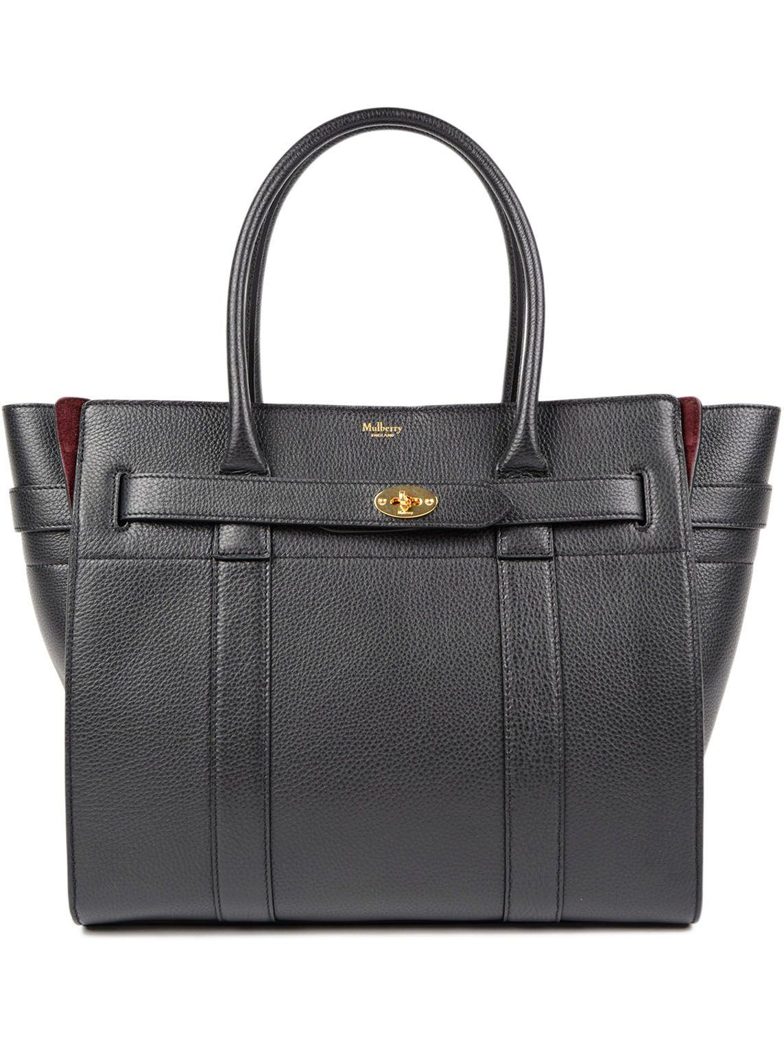 Mulberry Bayswater Tote In Black