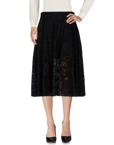 Neil Barrett 3/4 Length Skirt In Black