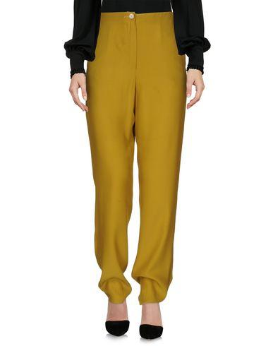 Perret Schaad Casual Pants In Military Green