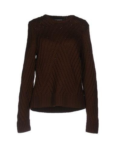 Neil Barrett Sweaters In Dark Brown