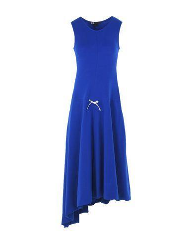 Y-3 Knee-length Dress In Blue
