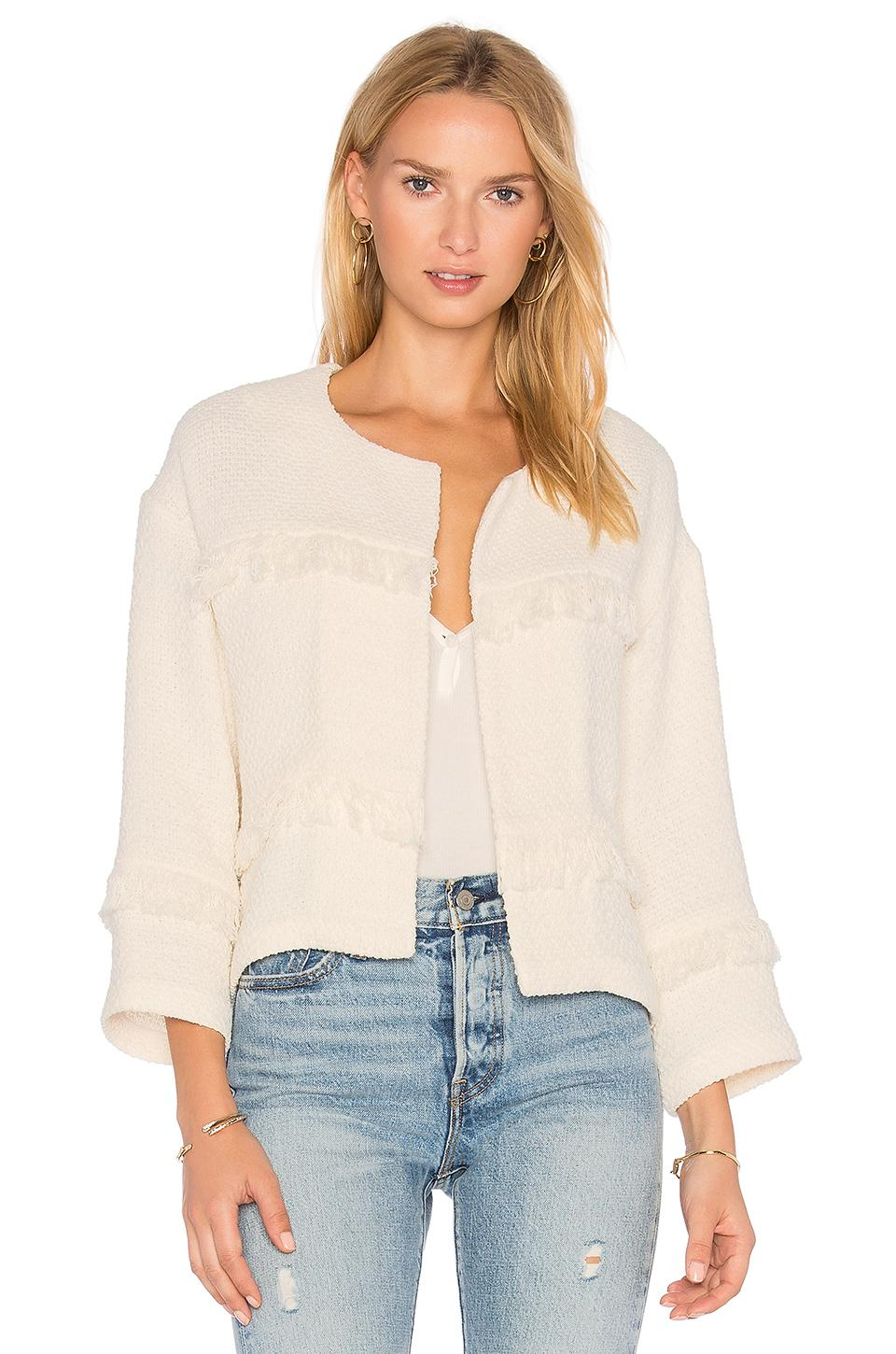 Joie Jacoba Jacket In Ivory
