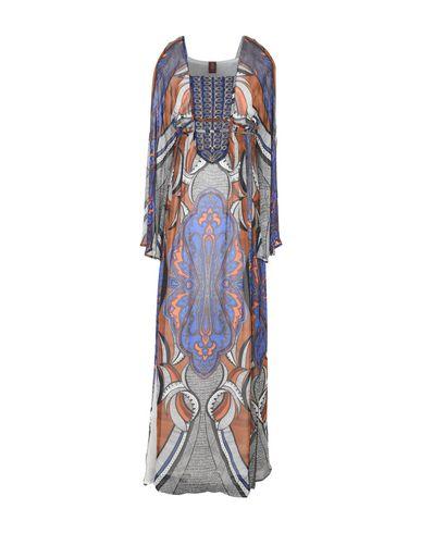 Dondup Long Dress In Blue