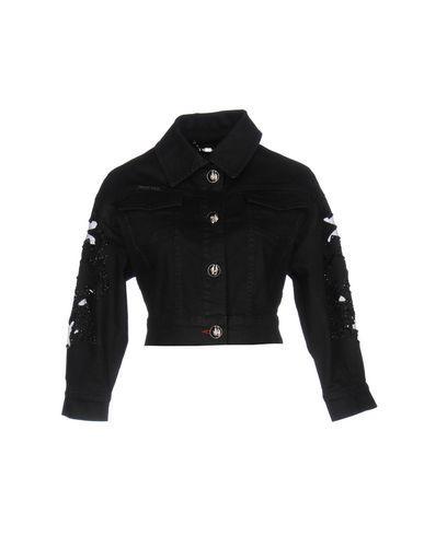 Philipp Plein Denim Jacket In Black