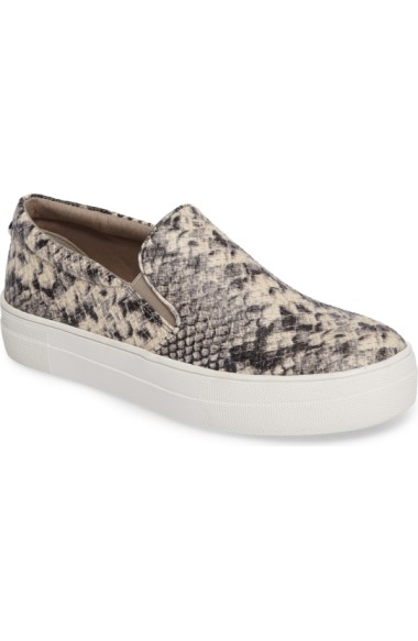 cd03e1ca4950 Steve Madden Gills Platform Slip-On Sneaker In Natural Snake | ModeSens