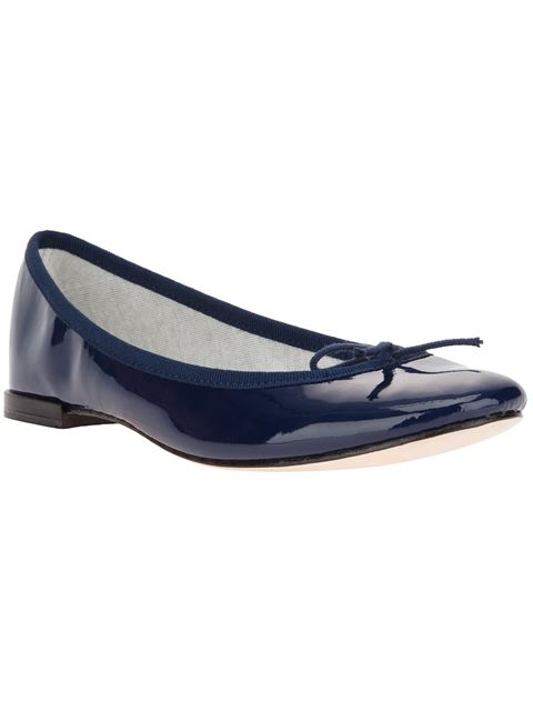 Repetto Flat Shoes In Blue