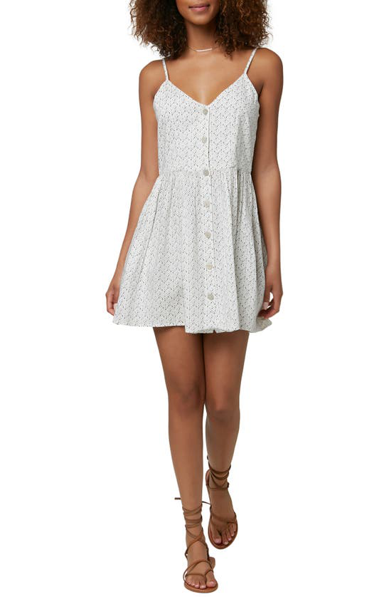 O'neill Vivette Woven Sundress In Winter White