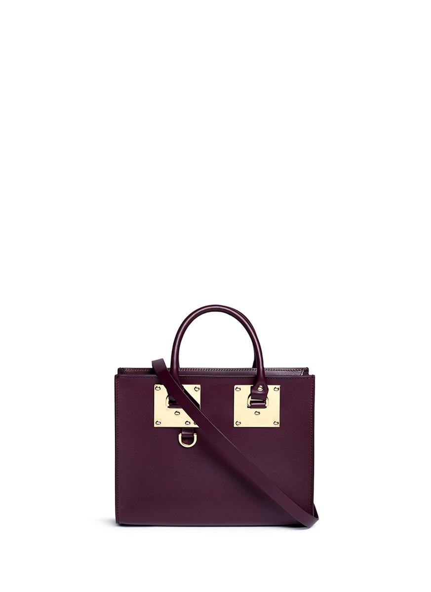 Sophie Hulme 'Albion' Medium Saddle Leather Bag