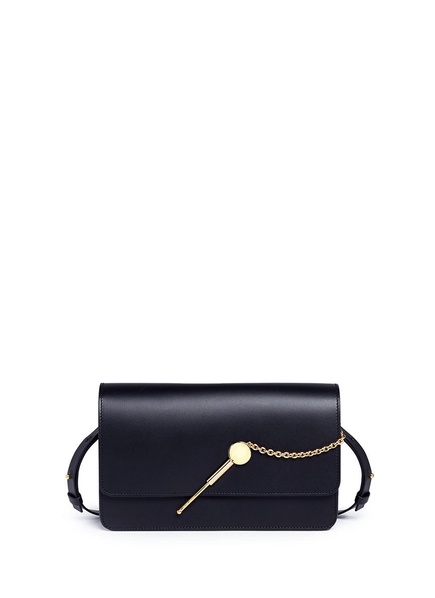 Sophie Hulme 'Cocktail Stirrer' Medium Leather Bag