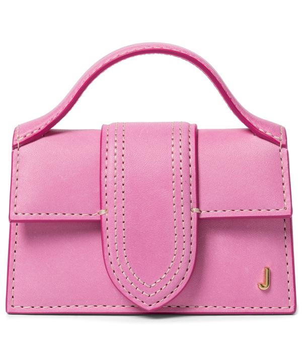 Jacquemus Le Petit Bambino Pink Leather Cross-body Bag