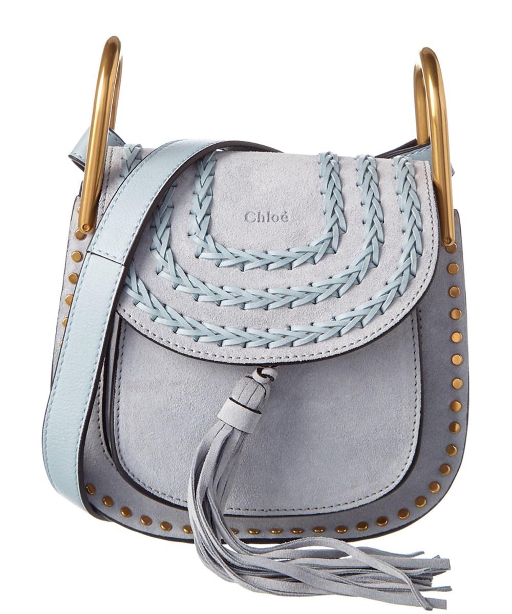 aa993a336d Chloe Hudson Mini Suede Crossbody Bag
