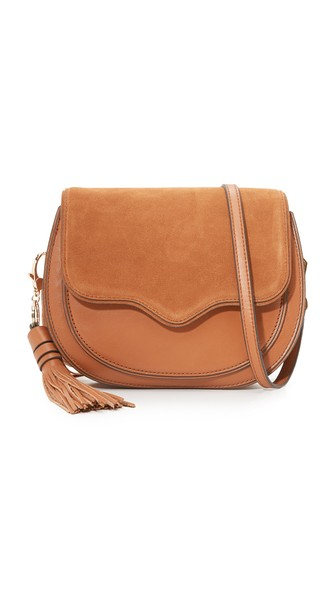 Rebecca Minkoff Large Suki Crossbody Bag - Brown In Almond