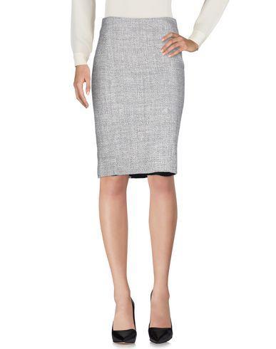 John Galliano Knee Length Skirt In Light Grey