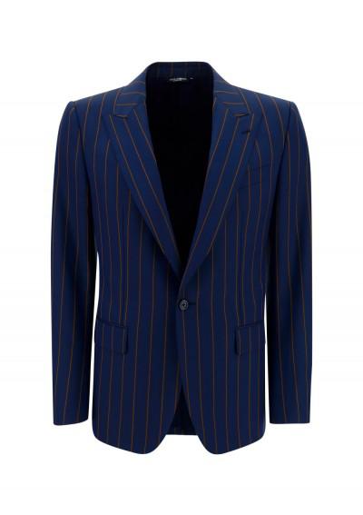 Dolce & Gabbana Jacket In Blue