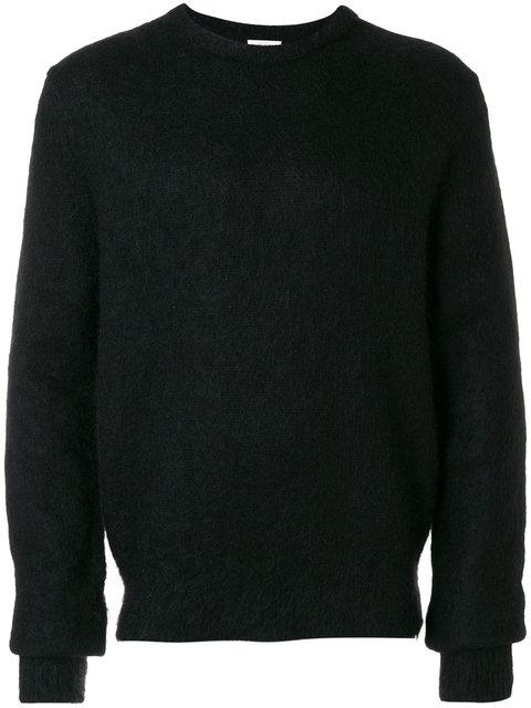 ad4969164f Black Mohair Crewneck Sweater