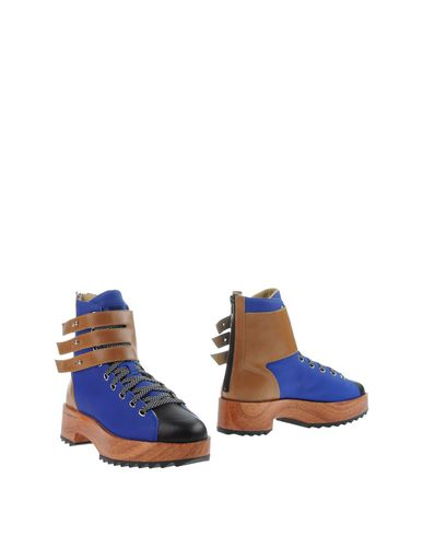 Y-3 Ankle Boot In Blue