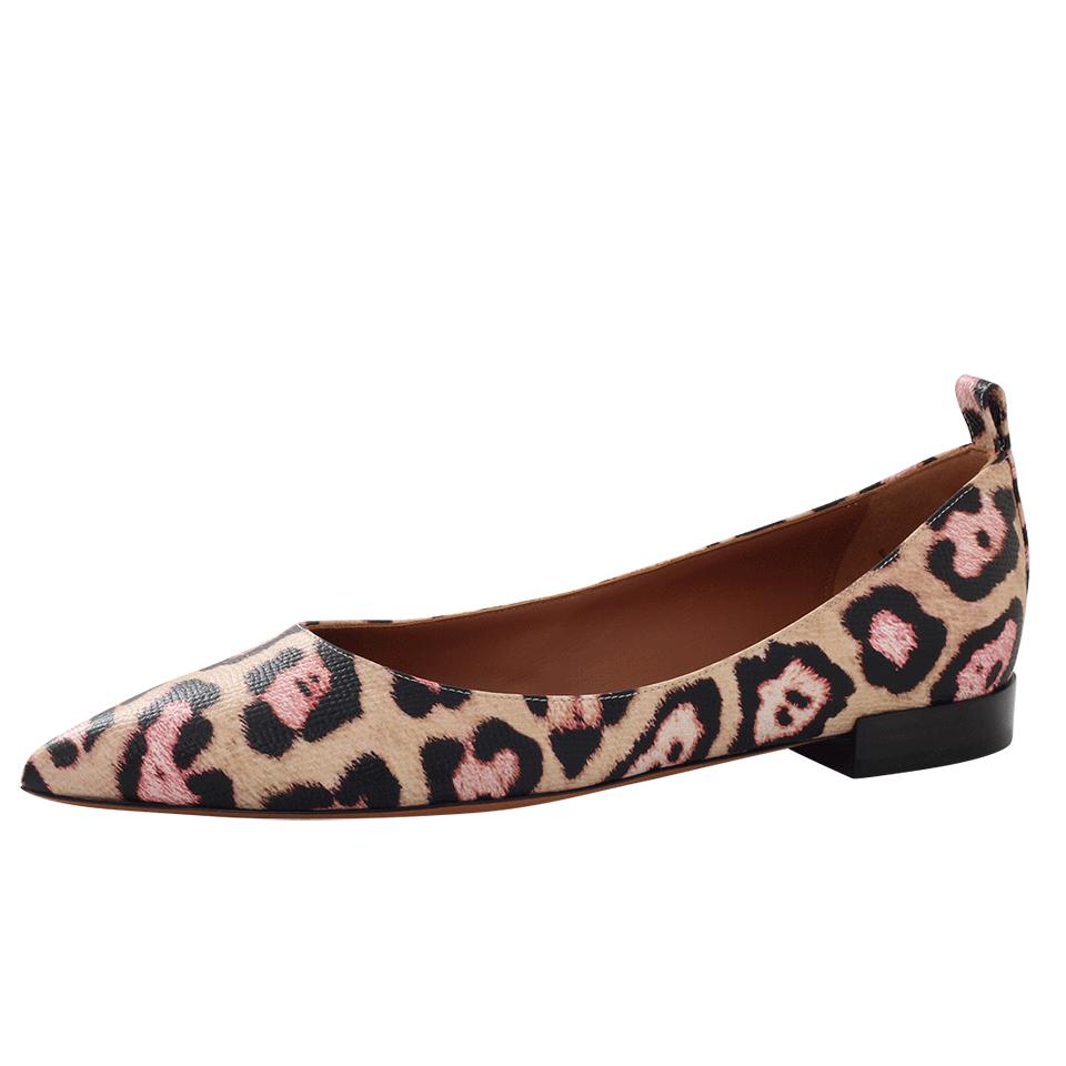 Givenchy Leopard Print Ballerinas