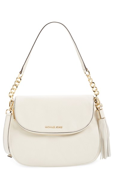 a4e7ffbfa32e Michael Michael Kors 'Bedford Tassel - Medium' Convertible Leather Shoulder  Bag (Nordstrom Exclusive