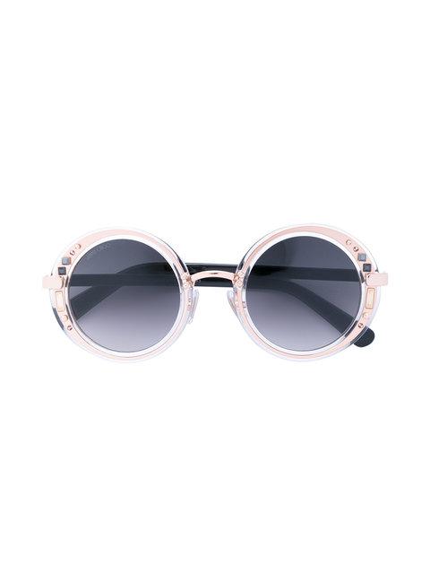 Jimmy Choo Eyewear 'Gem' Sunglasses - Metallic