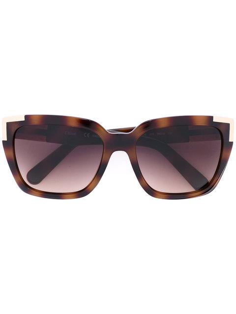ChloÉ Square Sunglasses