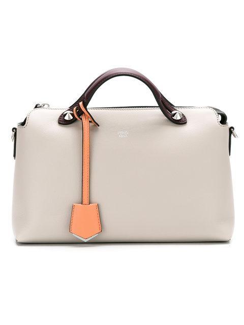 Fendi By The Way Shoulder Bag - Neutrals