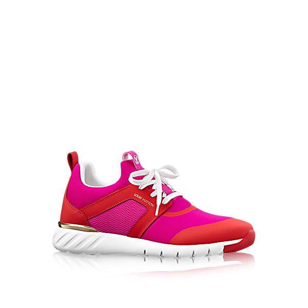 a17776e2732a Louis Vuitton Aftergame Sneaker In Fuchsia