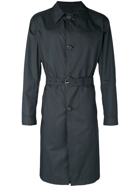 Salvatore Ferragamo Classic Trench Coat - Black