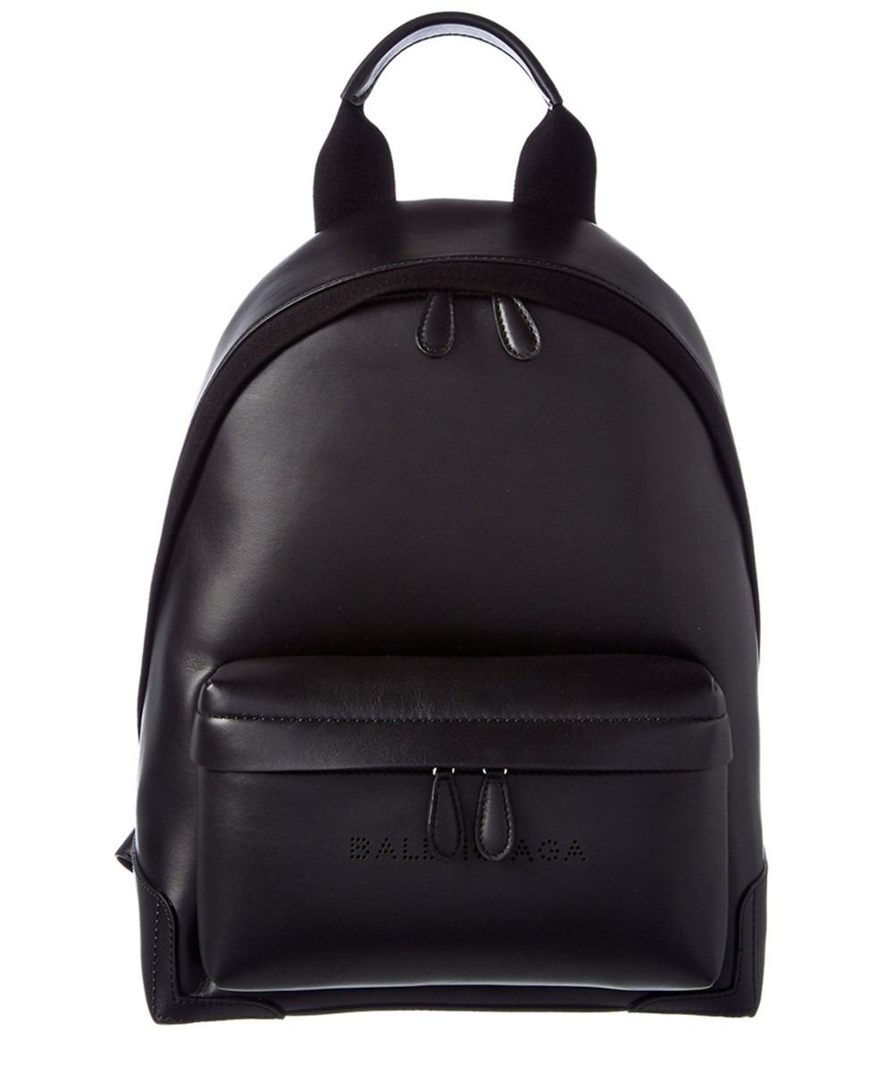 275e0383f Balenciaga Navy Leather Backpack In 1000 | ModeSens