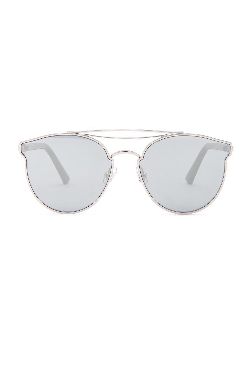 dd52d3e4852c Gentle Monster Love Punch Sunglasses In Metallics. In Black Titanium    Black Mirror
