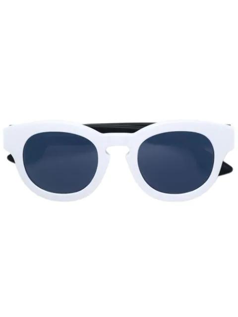 Mcq By Alexander Mcqueen Eyewear Cat-eye Frame Sunglasses - White